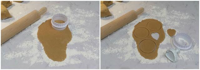 Cortar las galletas