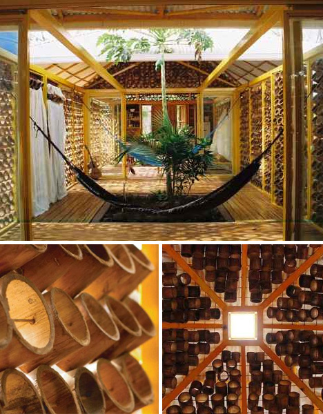 Furniture Interior Bamboo The Creative Design