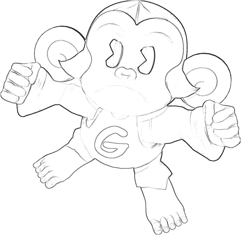 uakari coloring pages - photo #27
