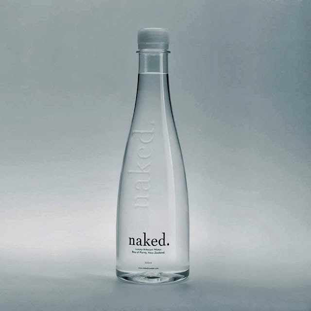 Packaging design inspiration #18 - naked. Luxury Artesian Water