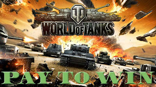 In the World of tanks you pay to win