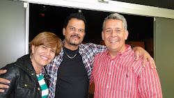 Com o Pr Alex e Ivone em São Evangelista