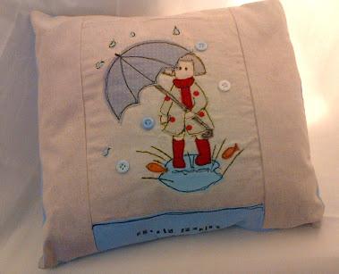 Tilly Mint Cushion