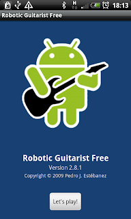 Robotic Guitarist Android
