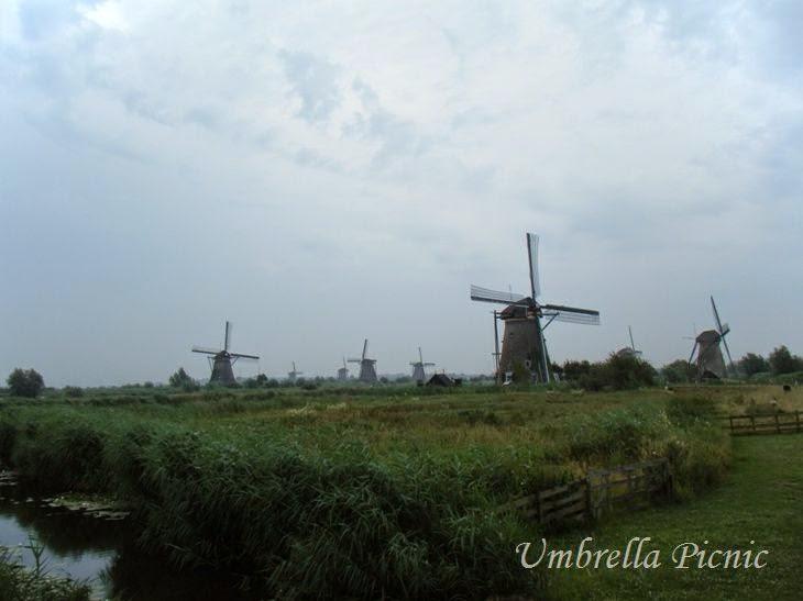 オランダキンデルダイク風車群1写真