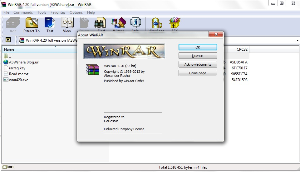 winrar full version for