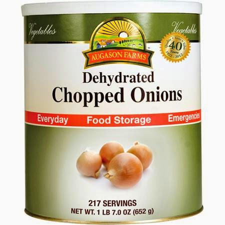 http://www.walmart.com/ip/Augason-Farms-Emergency-Food-Dehydrated-Chopped-Onions-23-oz/22001480