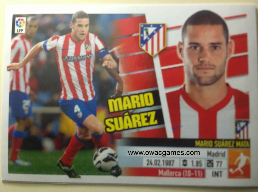 Liga ESTE 2013-14 Atl. de Madrid - 10 - Mario Suárez