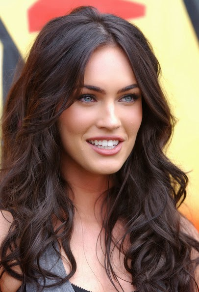 Megan Fox Hair Long Hairstyles With Bangs Vacation