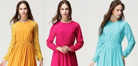Restock Alyssa Dress Dengan 3 Size BErbeza M, L & XL. Jom Dapatkannya Sekarang.