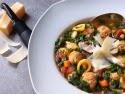 Healthy Turkey Meatball and Kale Soup