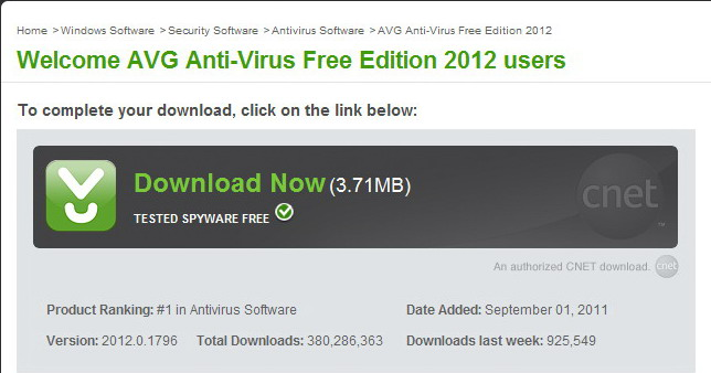 Avg Free Easy Download 2012 Full Version Cnet - filesphere