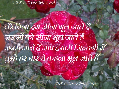sms with wallpapers love sms in hindi