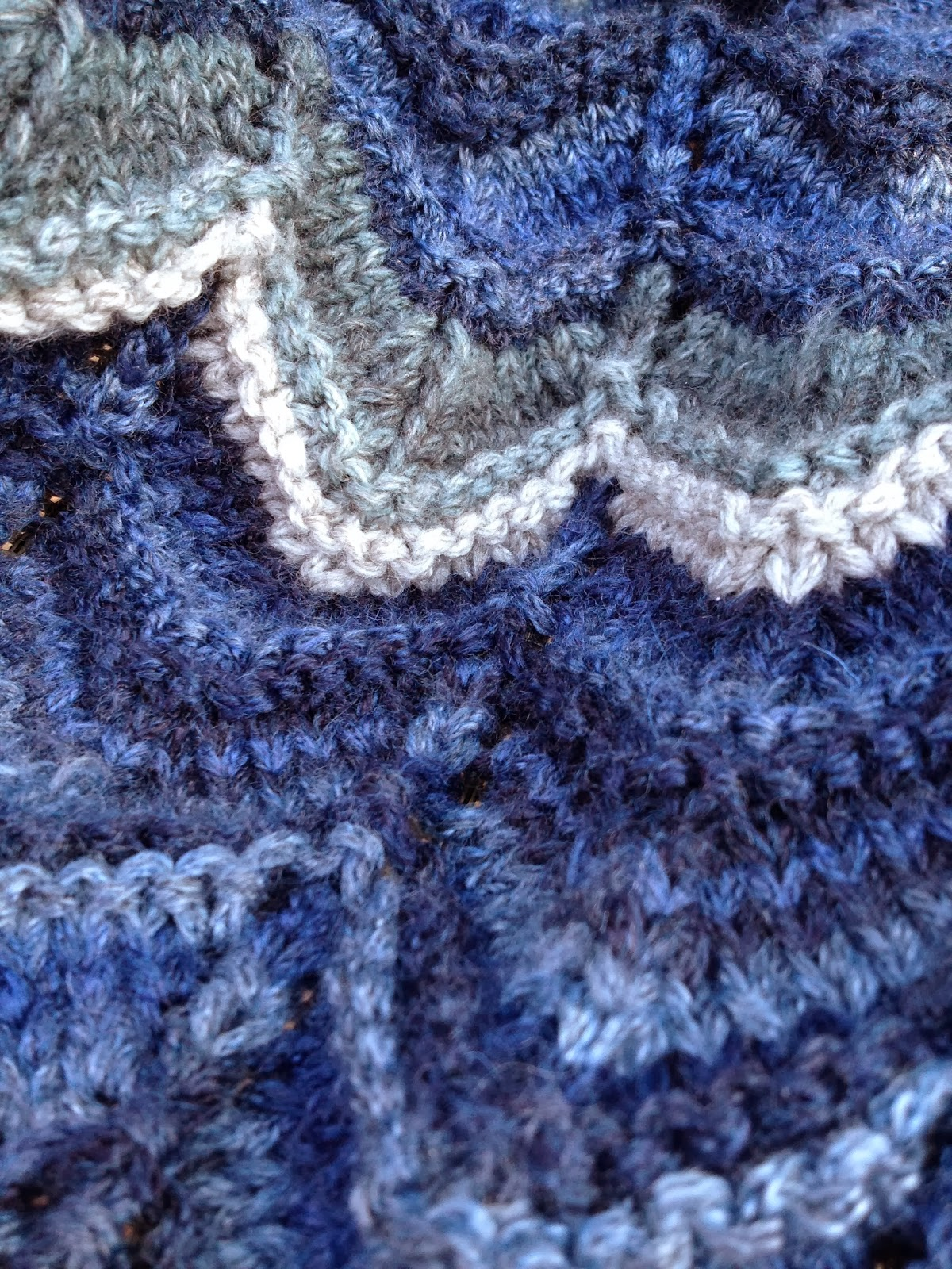 Knitting Stitches Sk2p : Olives and Mermaids and Wine, oh my...: Chevron Stripes