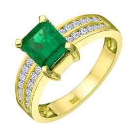 EmeraldRings whitegoldrings gold rings engagementrings goldrings stonerings stonejewellery252832529 - Emerald Rings