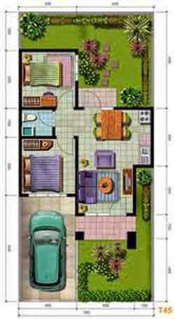 Contoh Model Rumah Minimalis Type 21 36 45 54 60 Terbaru 2013 | Ask ...