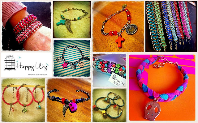 Collage Happy Uky showrooms pulseras