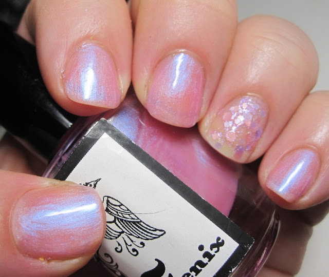 Feenix Pasadena Rose with Glitzology Priscilla