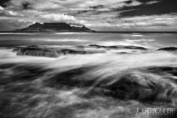 Table Mountain in Black&White