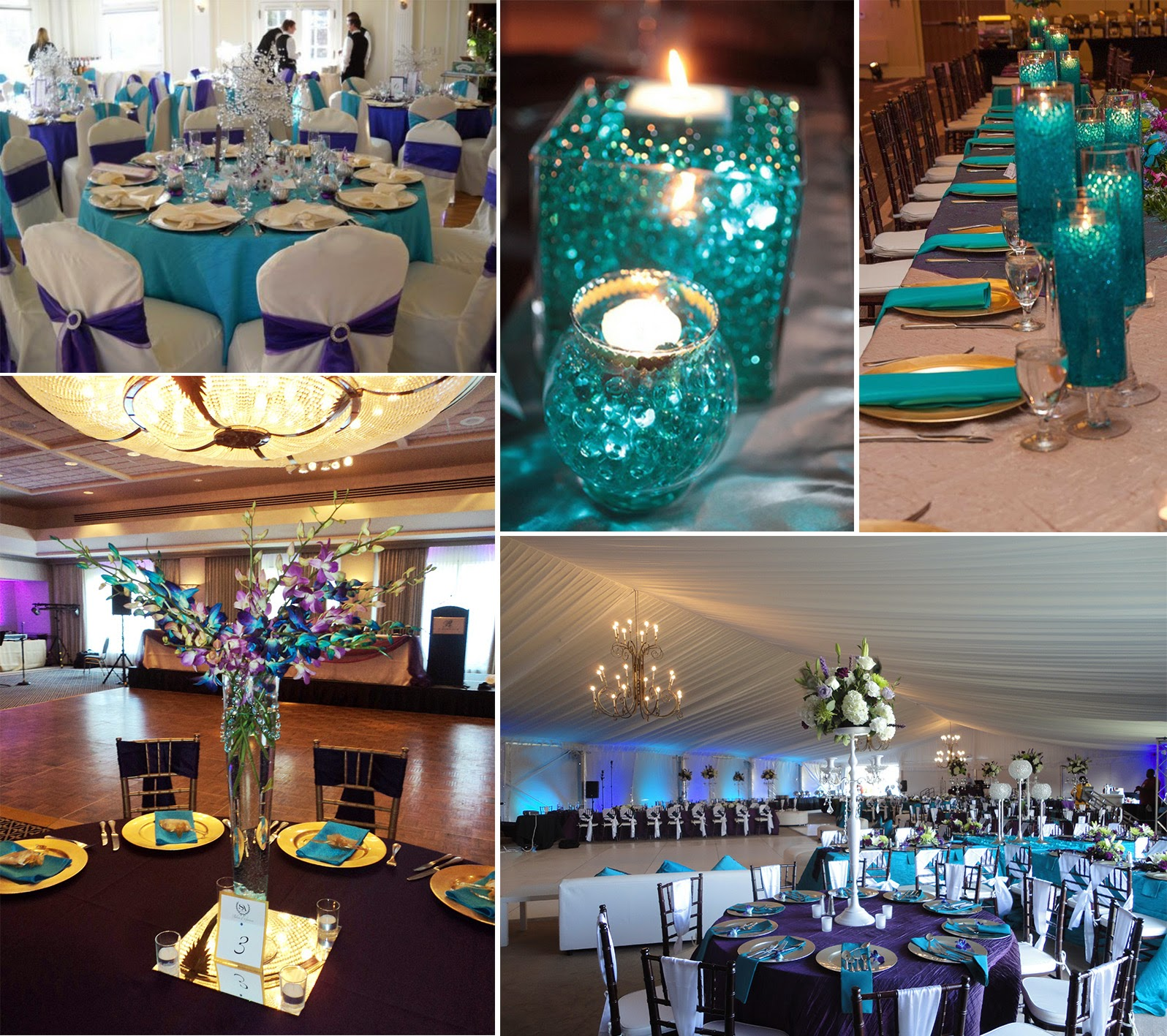 prom dress: Best ideas for purple and teal wedding
