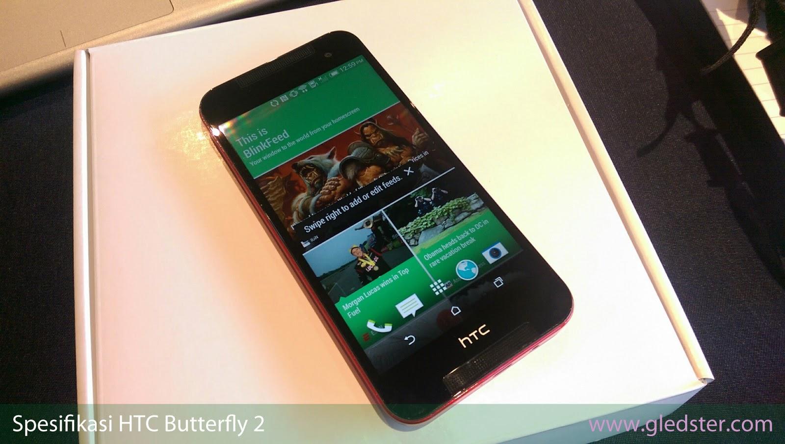 Spesifikasi HTC Butterfly 2