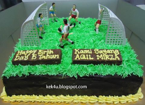 Kek4u Homemade Cakes And Chocolate Kek Padang Bola