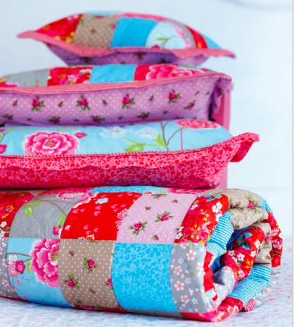 Camiseta a rayas lily colors decoraci n textil de hogar - Decoracion textil hogar ...