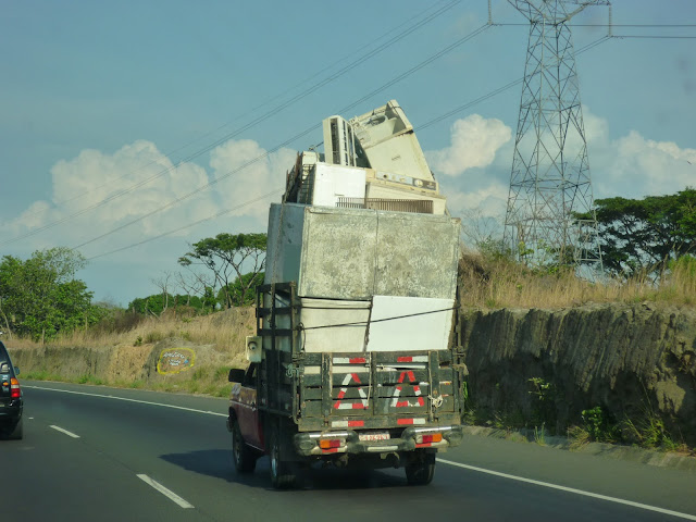 scary truck in San Jose, Costa Rica
