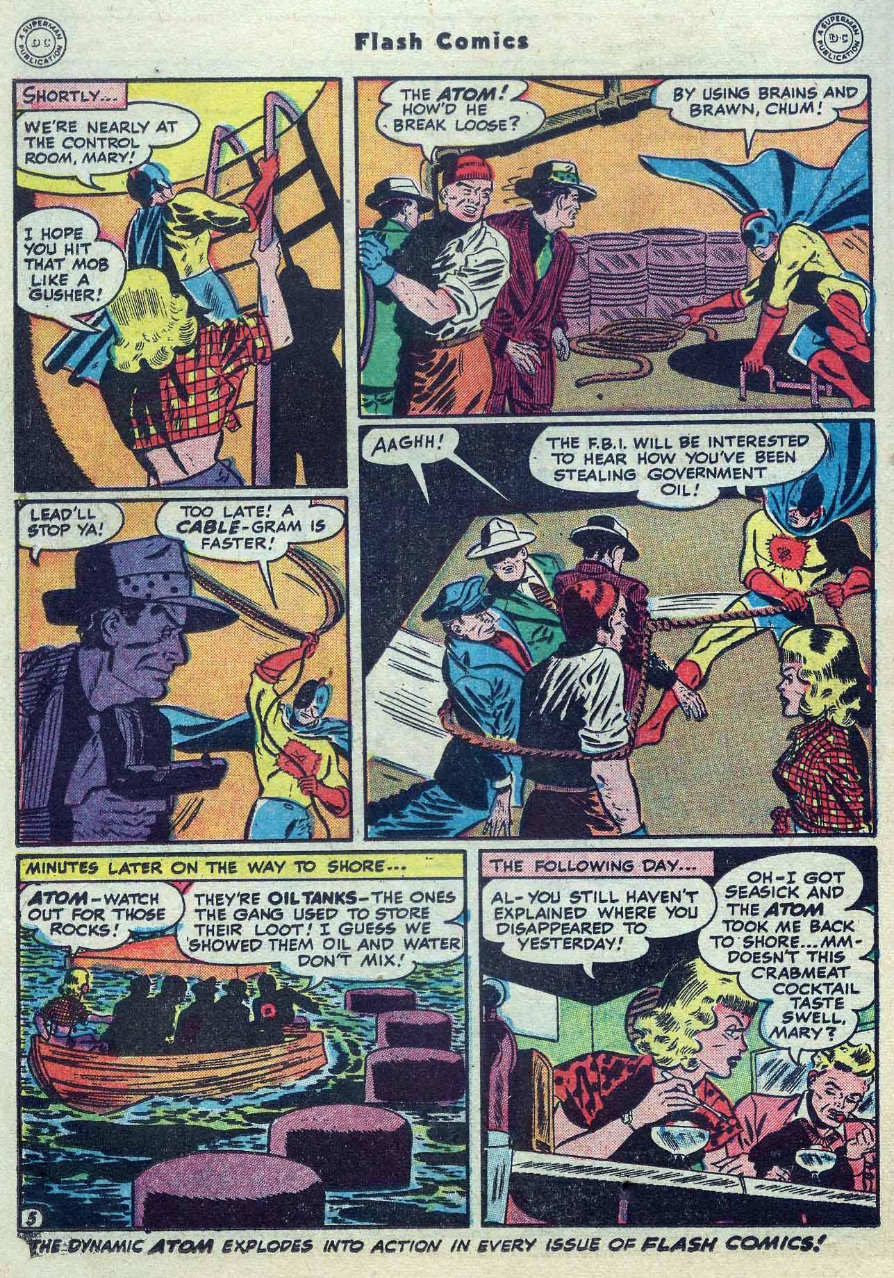 Flash Comics Issue #104 #104 - English 36