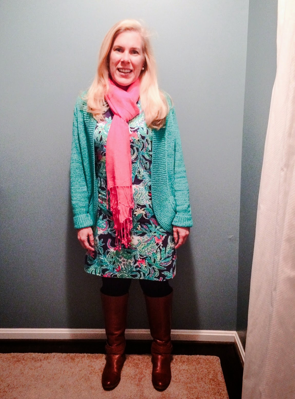 lilly pulitzer marlowe dress trunks up teacher blogger