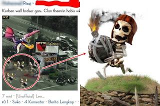 Meme Lucu dan Unik Bom Sarinah Thamrin
