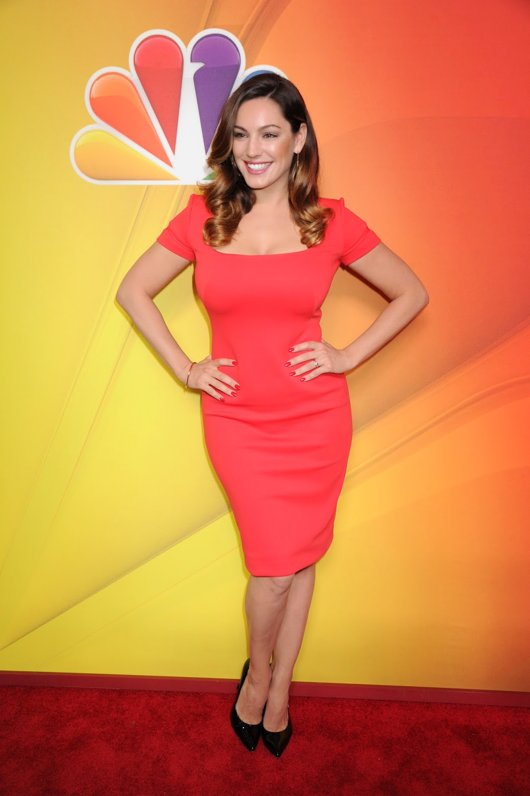 Kelly Brook at 2014 NBC Upfront Presentation in NYC