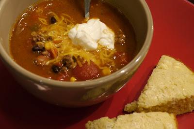 Denise's Kitchen: Ryan's Easy Taco Soup