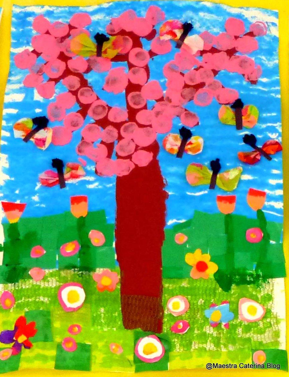 Maestra caterina primavera for Lavoretti di primavera