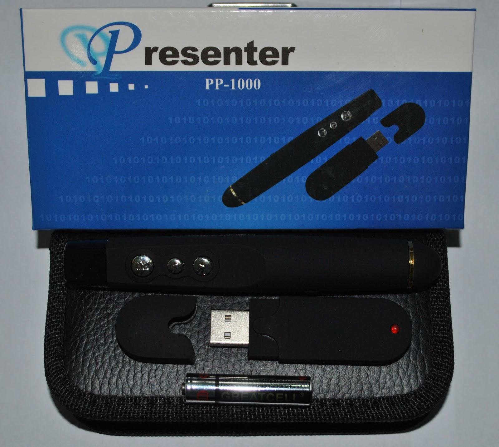 Aksesoris Comp 2012 Laser Pointer Pp1000 Presenter Pp 1000 A 810