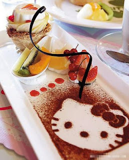 Hello Kitty dessert