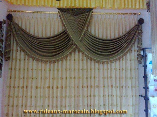 rideaux marocain rideaux occultants oiseaux de luxe. Black Bedroom Furniture Sets. Home Design Ideas