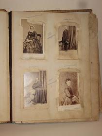 NINETY SEVEN HISTORICAL PHOTOS FROM A ROBERTSON DESCENDANTS PHOTO ALBUM  Circa 1855-1860