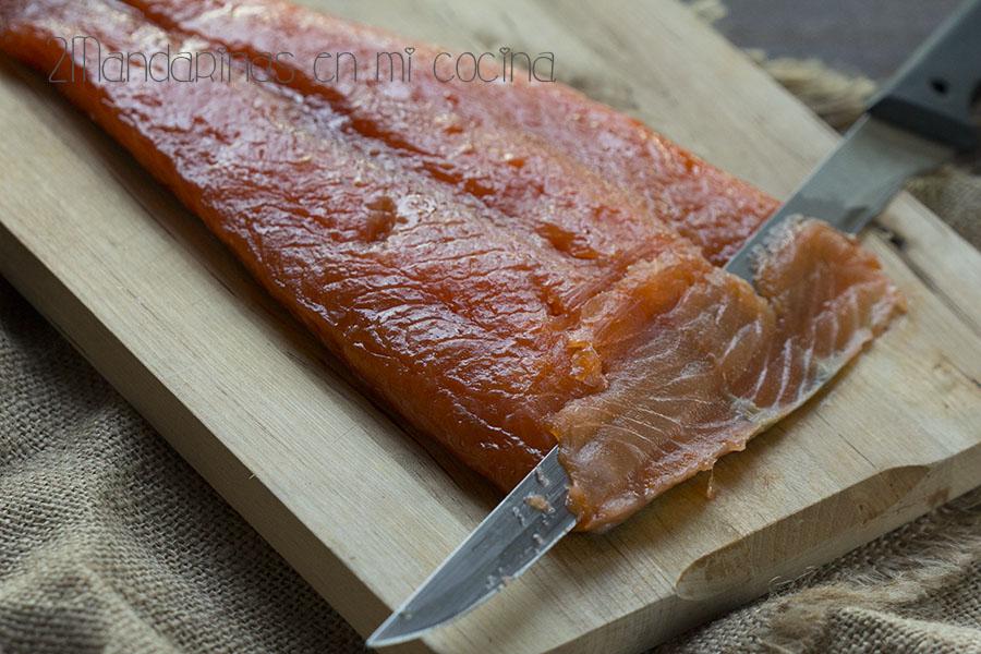 Cómo preparar salmón marinado casero.