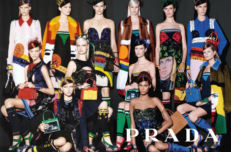 Prada SS14 Campaign by Steven Meisel