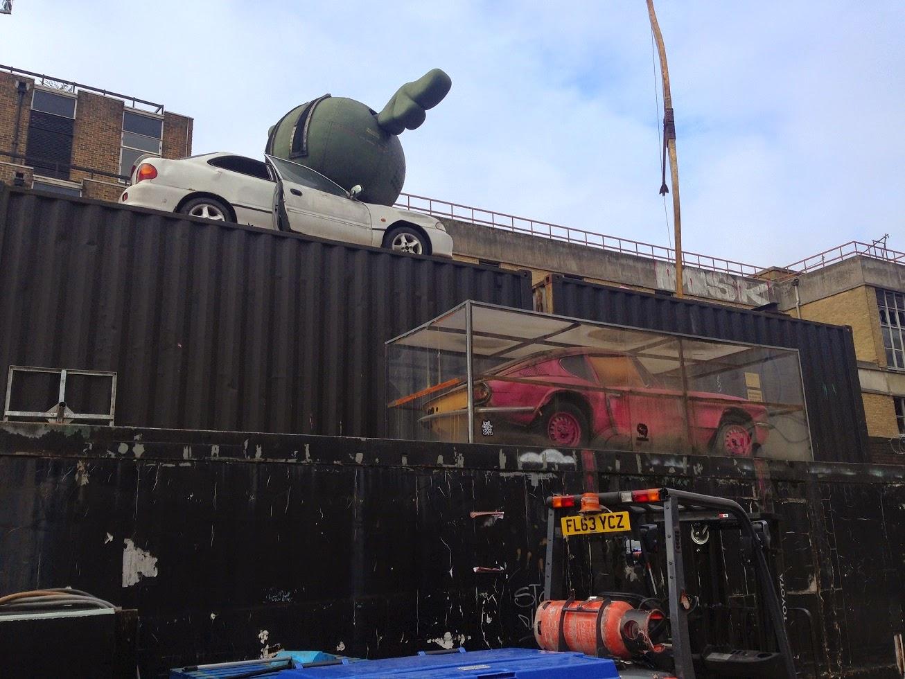 Art installation(?), Shoreditch, London