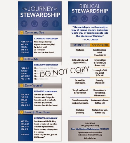 The Stewardship Bookmark