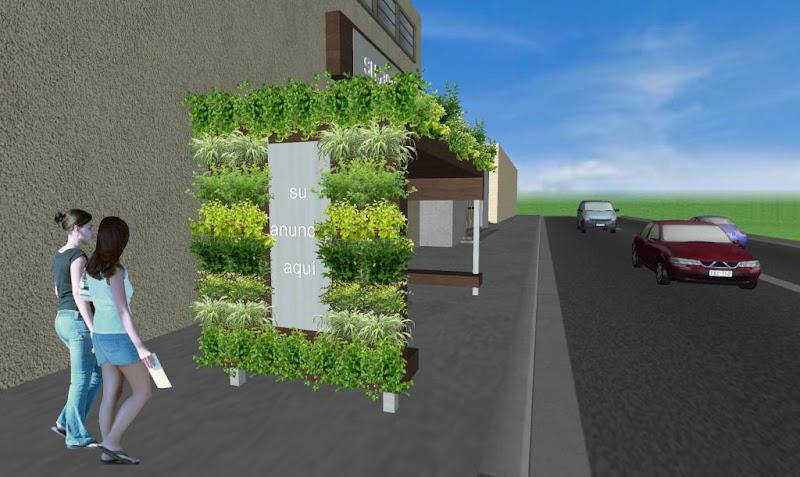 Parabus Ecologico - Minimalist 3 - Con Jardin Vertical y Colgante - Zen Ambient - Mexico