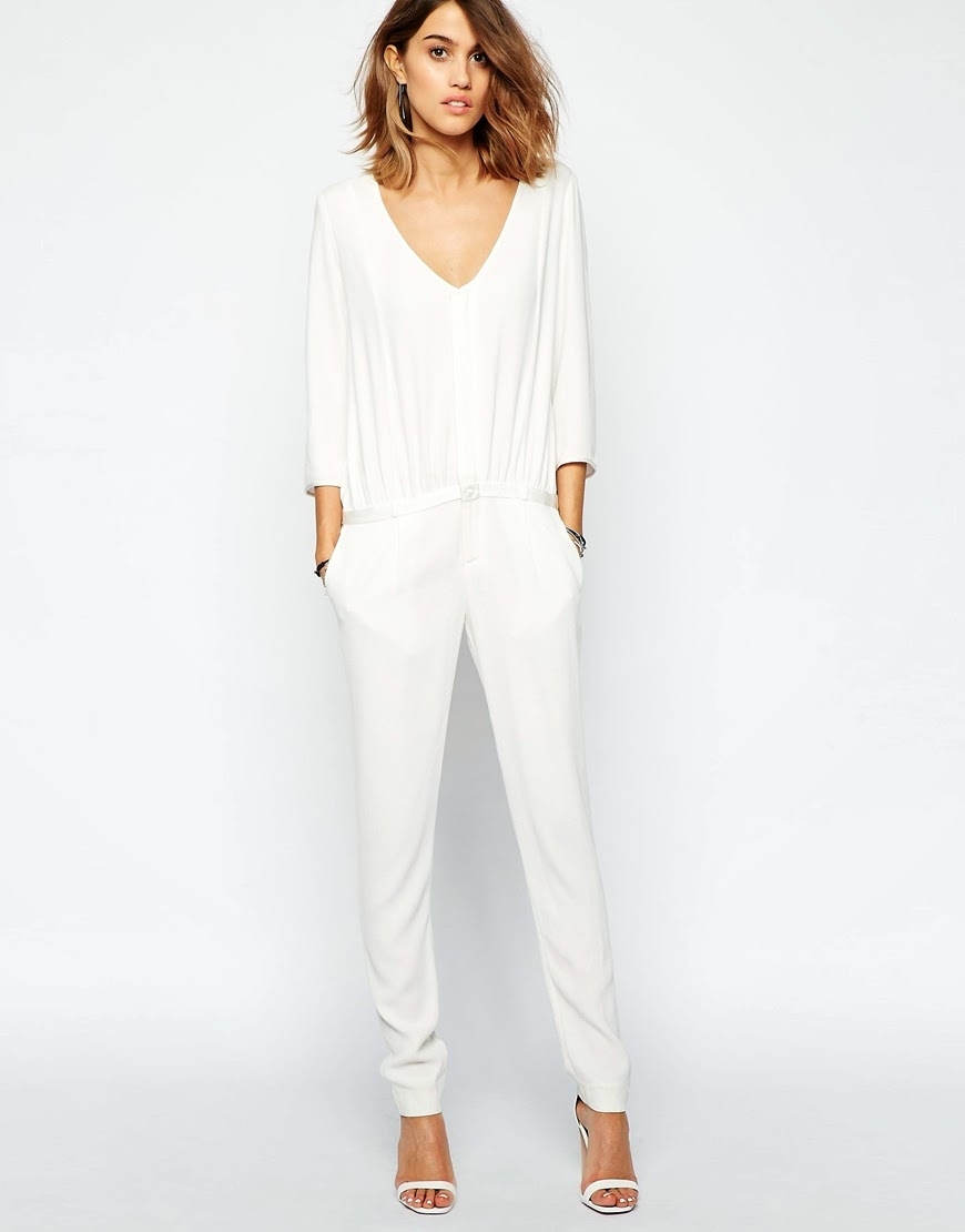 ba&sh white jumpsuit