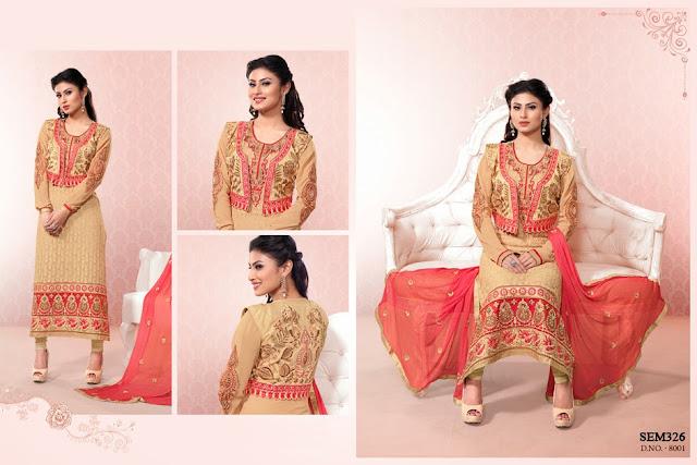 Online Shopping Designer Embroidery Salwar Kameez