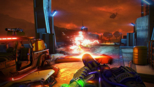 Far Cry 3 Blood Dragon Setup For Free
