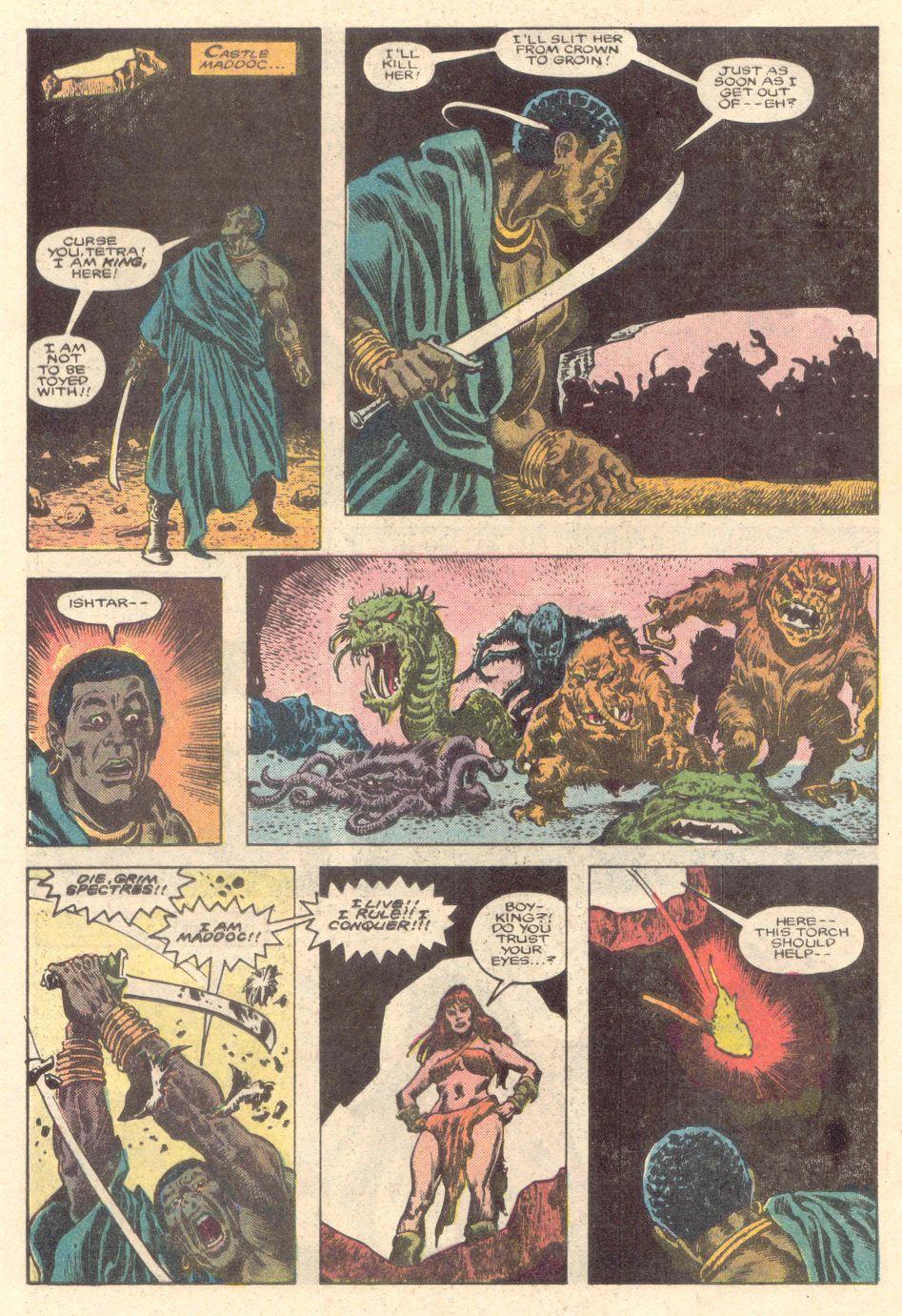 Conan the Barbarian (1970) Issue #183 #195 - English 15