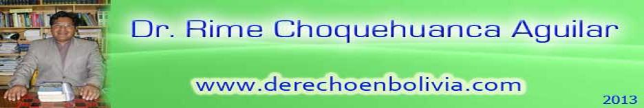 Dr. Rime F. Choquehuanca Aguilar