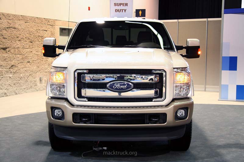 The 2011 Ford F350 Super Duty is the third version of Ford's heavy