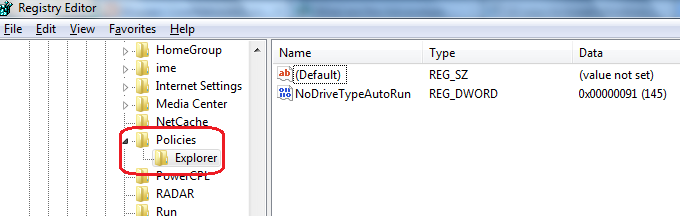 How to make system tray invisible using registry editor